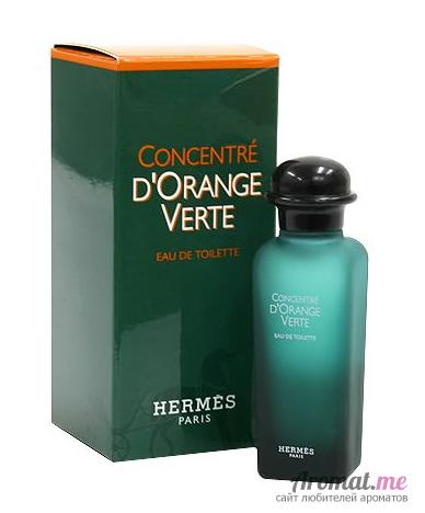 Аромат Hermes Concentre d`Orange Verte