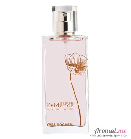 Аромат Yves Rocher Comme Une Evidence Limited Edition